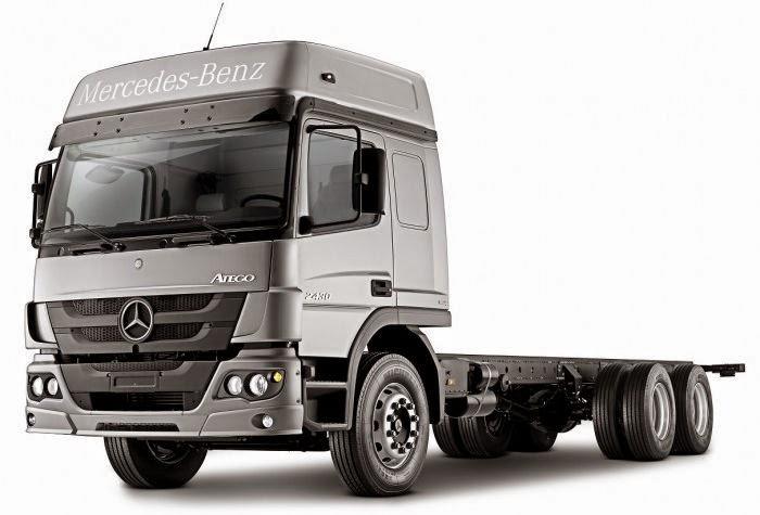 Banco Mercedes-Benz oferece financiamento totalmente atrelado ao real para seus clientes de caminhõ